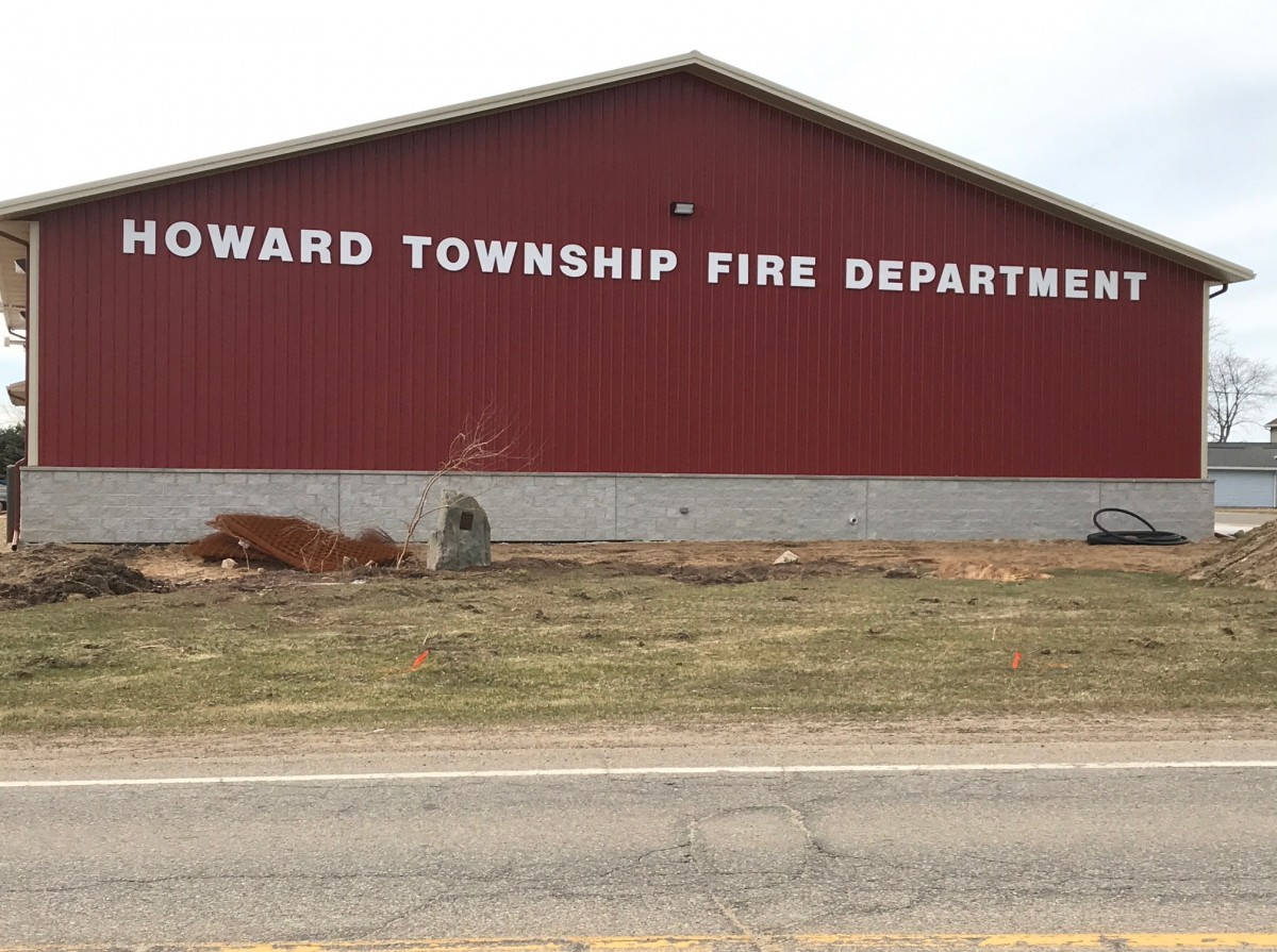 Channel Letters_Howard Township Fire Department
