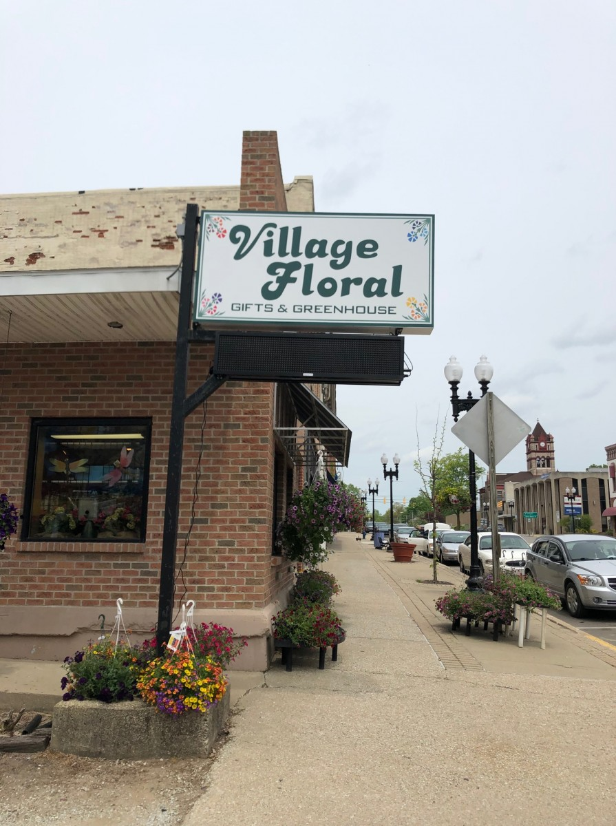 Digital Print Sign_Village Floral