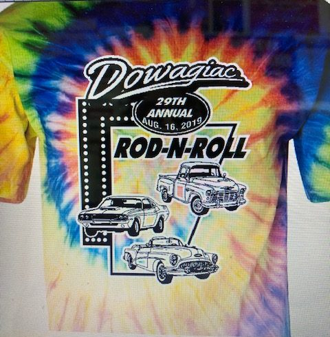 T-Shirt Printed Graphics_Dowagiac Rod-N-Roll_29th Annual