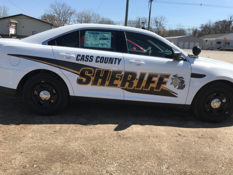 Vehicle Graphics_Sheriff Cass County Car